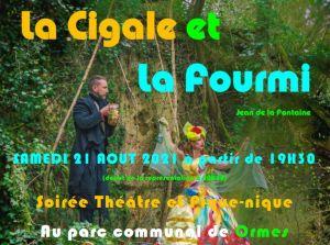 Evènement : Théâtre en plein air à Ormes