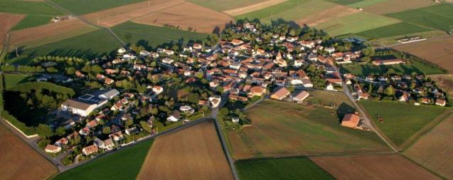 Vue aérienne de ORMES